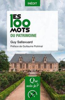 Les 100 Mots Du Patrimoine
