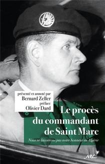 Le Proces Du Commandant De Saint Marc