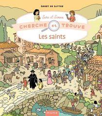 Cherche Et Trouve Sara Et Simon : Les Saints