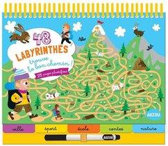 48 Labyrinthes : Trouve Le Bon Chemin !