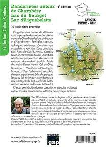 Randonnees Autour De Chambery : Lac Du Bourget, Lac D'aiguebelette