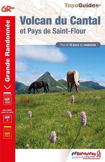 Volcan Du Cantal Et Pays De Saint-flour ; Gr 400, Gr 4, Gr Pays