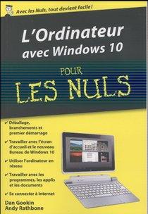 L'ordinateur Et Windows 10 Pour Les Nuls