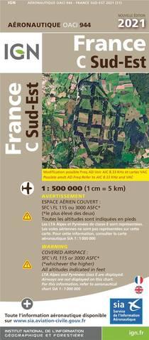 Oaci944 : France C Sud-ouest (edition 2021)