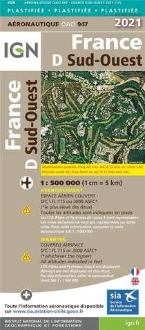 Oaci947 : France D Sud-ouest (edition 2021)