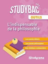 Studybac ; L'indispensable De Philosophe