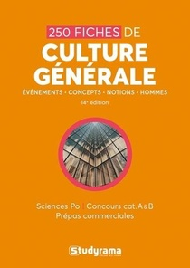 250 Fiches De Culture Generale