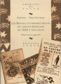 Les Revues Litteraires Belges De Langue Francaise De 1830 A Nos Jours