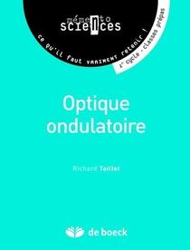 Optique Ondulatoire