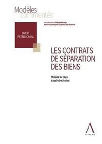 Les Contrats De Separation Des Biens
