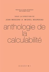 Anthologie De La Calculabilite