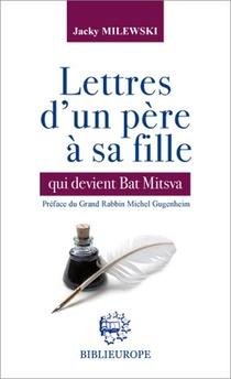 Lettres D Un Pere A Sa Fille Qui Devient Bat Mitsva