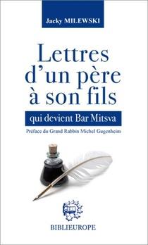Lettres D Un Pere A Son Fils Qui Devient Bar Mitsva