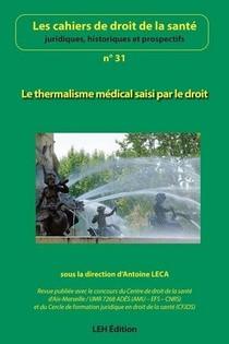 Le Thermalisme Medical Saisi Par Le Droit (n 31)