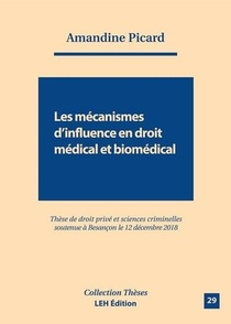 Les Mecanismes D Influence En Droit Medical Et Biomedical