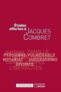Etudes Offertes A Jacques Combret