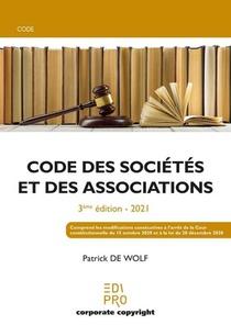 Code Des Societes Et Des Associations (3e Edition)
