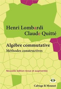 Algebre Commutative, Methodes Constructives : Modules Projectifs De Type Fini