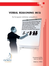 Verbal Reasoning Mcq For European Institution Competitions