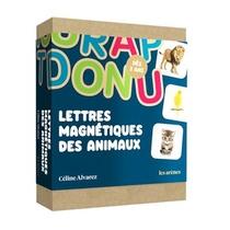 Coffret Lettres Magnetiques Animaux