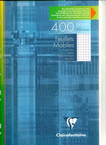 400 pages mobiles perforées