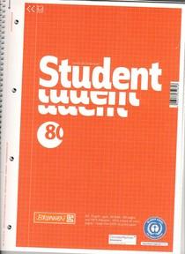 Cahier Student 160 pages petits carreaux