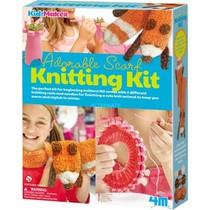 Knitting kit adorable scarf