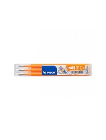 Frixion 3 recharges orange clair 0.7mm
