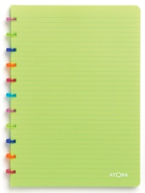 Cahier Atoma 144 pages petits carreaux avec marge 90g