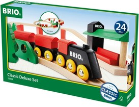TRAIN BOIS BRIO CLASSIC DELUX SET