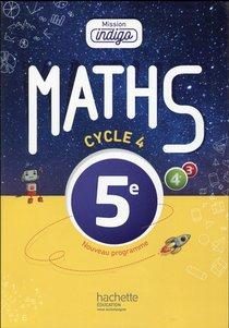 Mathematiques ; Cycle 4 / 5eme ; Livre De L'eleve (edition 2016)