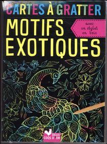Cartes A Gratter ; Motifs Exotiques