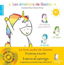 Les Emotions De Gaston ; Le Livre Audio De Gaston