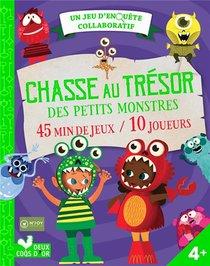 Chasse Au Tresor Des Petits Monstres ; Un Jeu D'enquete Collaboratif
