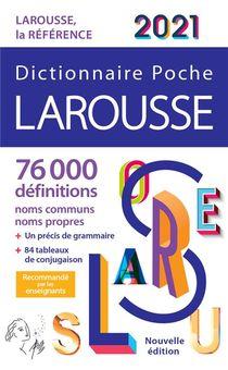 Dictionnaire Larousse Poche (edition 2021)