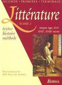 Litterature Tome 1 Eleve - Volume 01