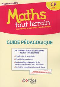 Maths Tout Terrain Cp Guide Pedagogique 2019