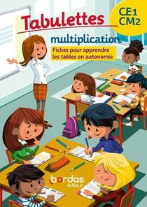 Tabulettes Multiplication Ce1/cm2 2020