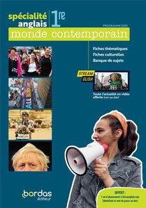 Anglais Specialite Monde Contemporain 1re 2020 Fichier Eleve