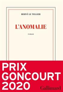 L'ANOMALIE / GONCOURT 2020
