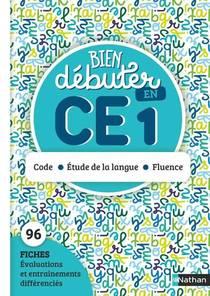 Bien Debuter En Ce1 - Code - Etude De La Langue - Fluence