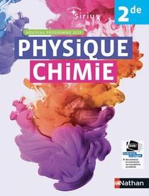 Physique Chimie 2de Manuel 2019