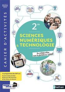 Sciences Numerique Et Technologiques 2de - Cahier 2019