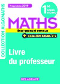 1re Series Techno Maths + Specialites Sti2d / Stl