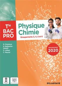 Physique - Chimie Tle Bac Pro G3, G4, G5, G6 (2021) - Pochette Eleve