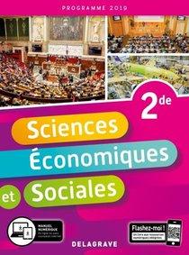 Sciences Economiques Et Sociales 2nde 2019 Pochette Eleve