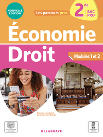 Economie Droit 2de Bac Pro (2021) - Pochette Eleve