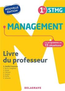 Management 1re Stmg (2021) - Pochette - Livre Du Professeur