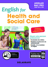 English For Health And Social Care Anglais Bac Pro 2019 Pochette Eleve