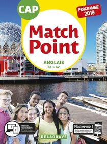Match Point Anglais Cap 2019 Pochette Eleve